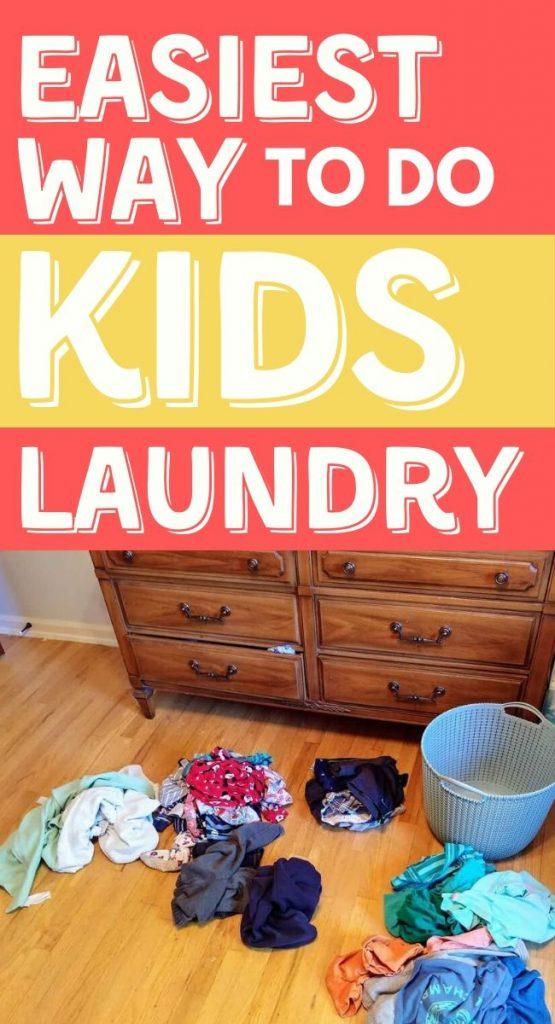 no folding no sorting simple kids laundry