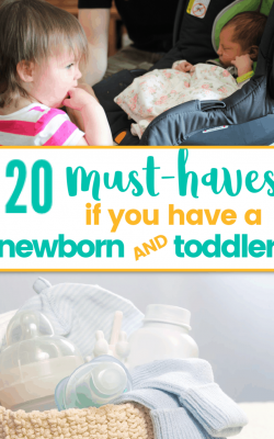 must haves for toddler newborn