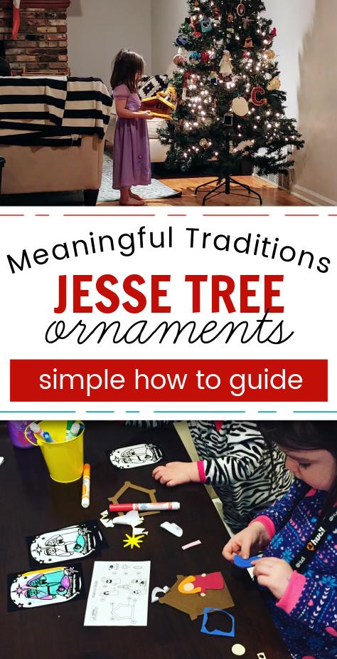 how to do a jesse tree with kids